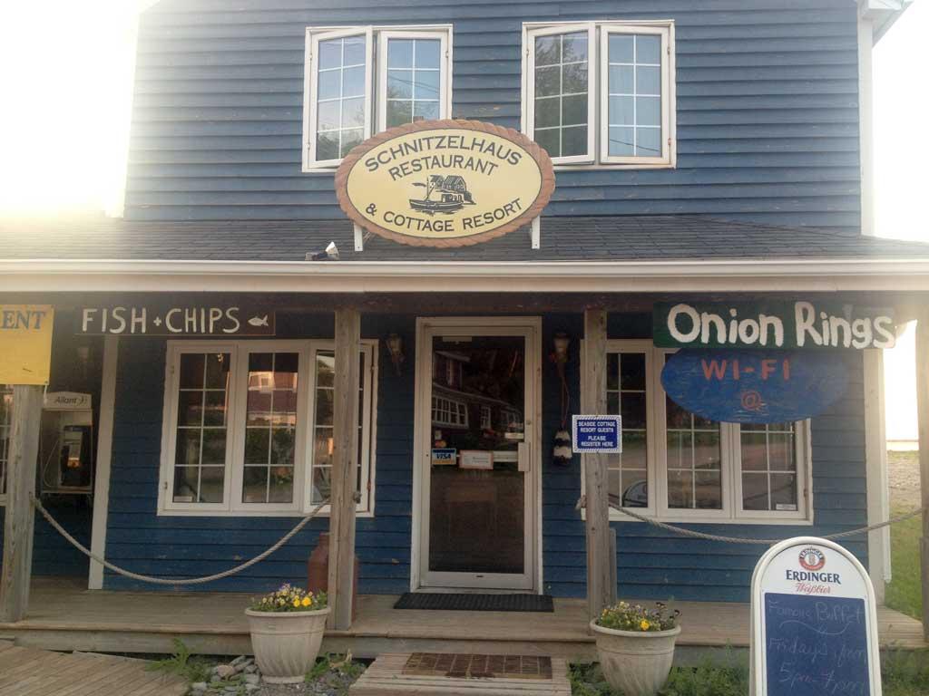 Harbourville's restauraurnt