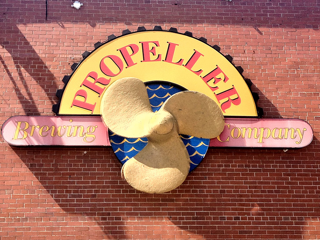 Propeller Brewery Halifax