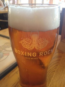 Boxing Rock's Vicars Cross, Double IPA