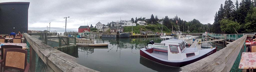 Deck View from restauraunt
