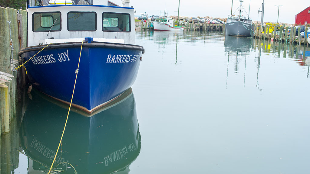 Halls Harbour fishing boat