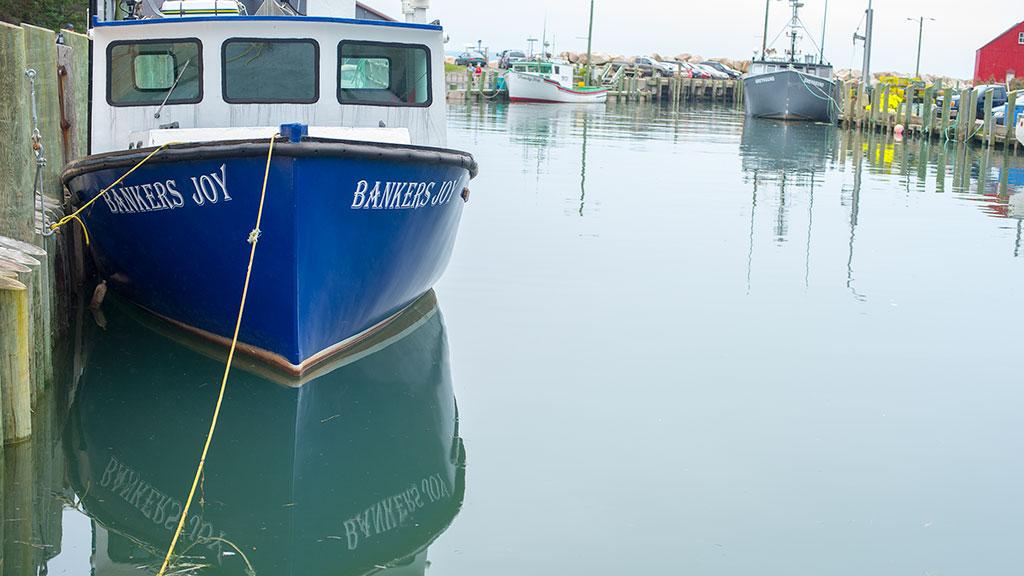 Halls Harbour fishing boat