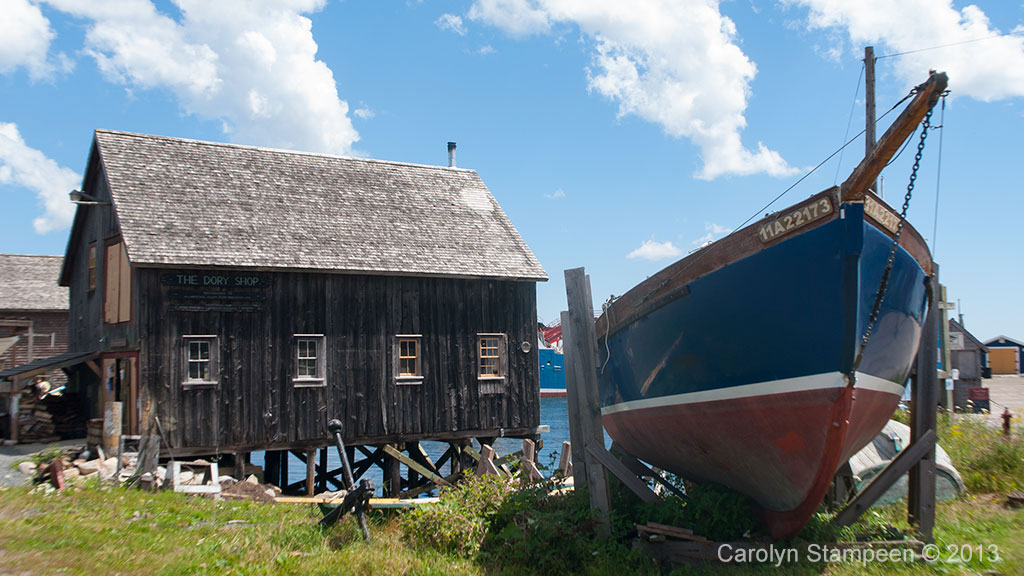 Lunenburg Shack and Boat