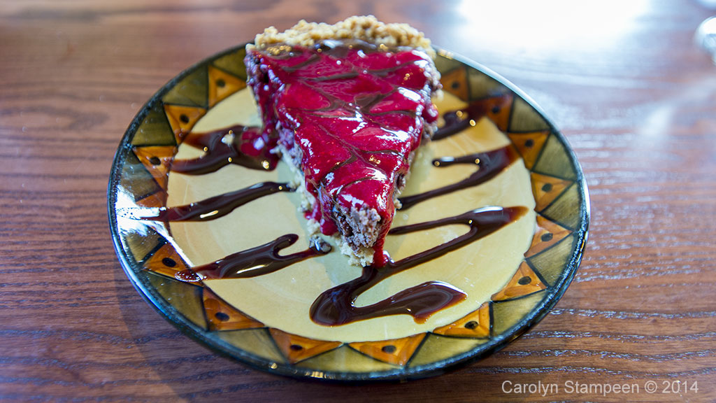 Calactus Chocolate Rasberry Cheesecake