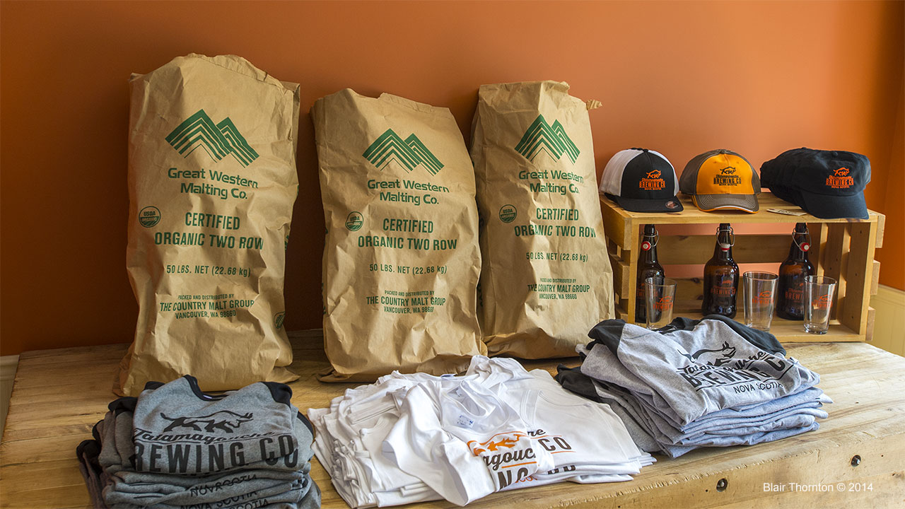 merchandise at TataBrew