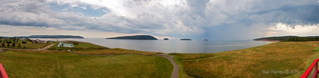 Five Islands Panoramic view from lighthouse
