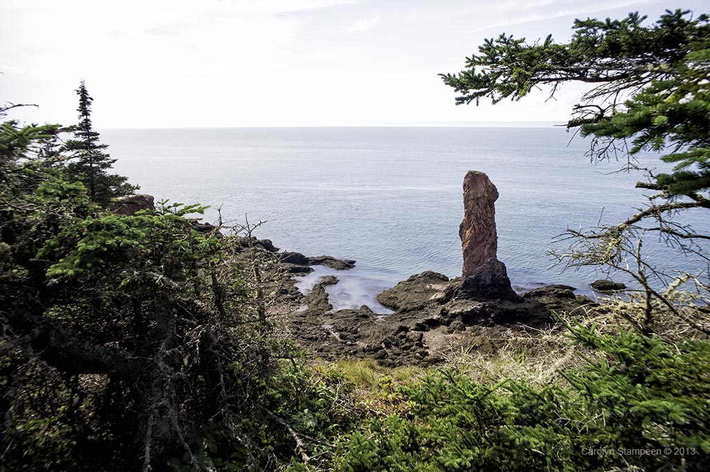 Sea Stack at Cape Chignecto