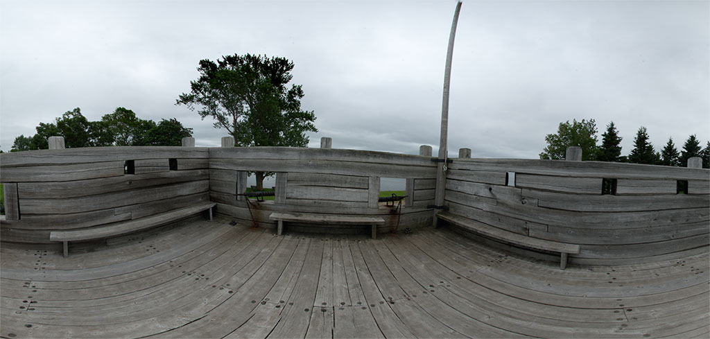 Panoramic at Port Royal Nova Scotia